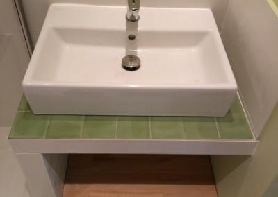 Plan vasque sur mesure SDB 2