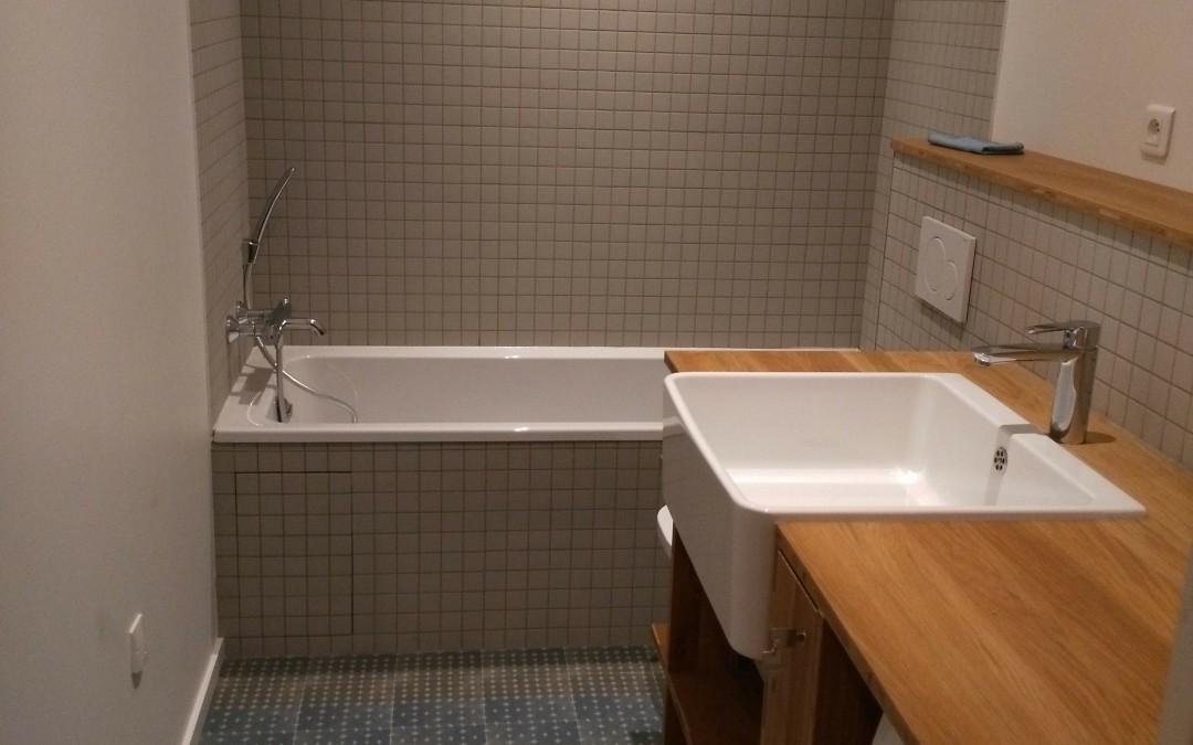 Rénovation d'un appartement – Création 2 salles de bain